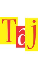 Taj errors logo
