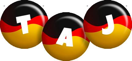 Taj german logo