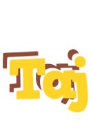 Taj hotcup logo