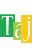 Taj lemonade logo