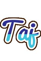 Taj raining logo