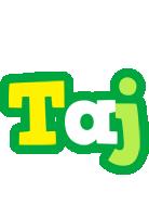Taj soccer logo