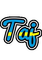 Taj sweden logo