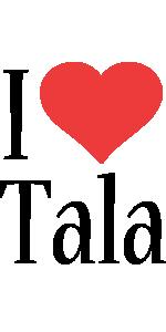 Tala i-love logo