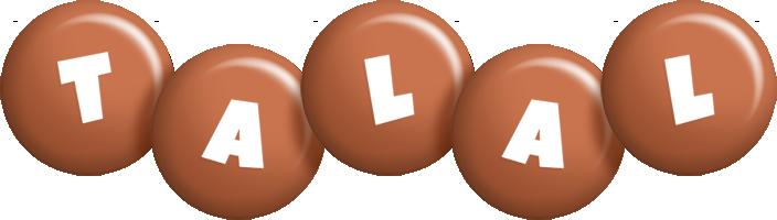 Talal candy-brown logo