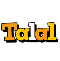 Talal cartoon logo