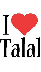 Talal i-love logo