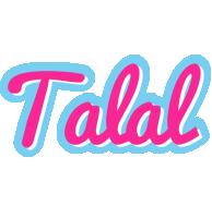 Talal popstar logo