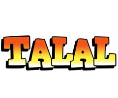 Talal sunset logo