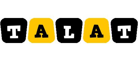 Talat boots logo