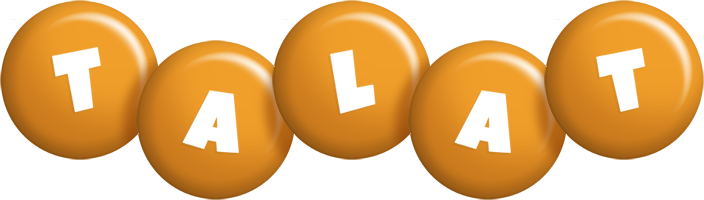 Talat candy-orange logo