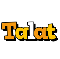 Talat cartoon logo