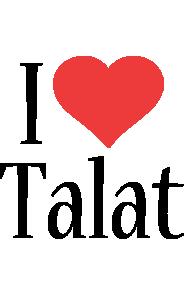 Talat i-love logo