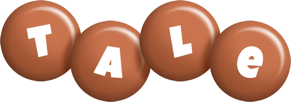 Tale candy-brown logo