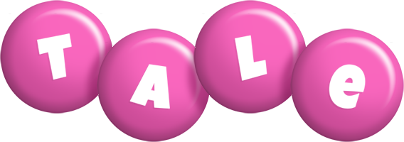 Tale candy-pink logo