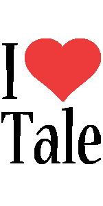 Tale i-love logo