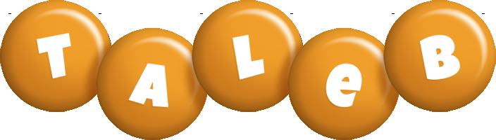 Taleb candy-orange logo