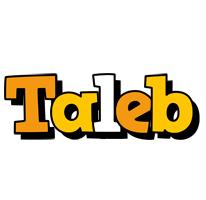 Taleb cartoon logo