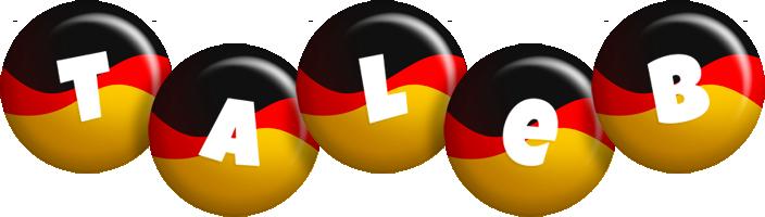 Taleb german logo