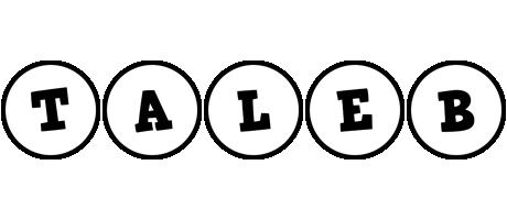 Taleb handy logo
