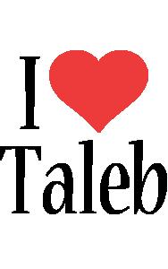 Taleb i-love logo