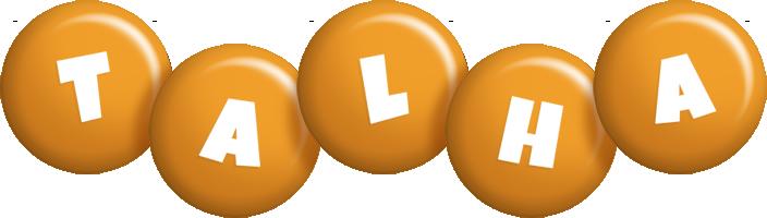 Talha candy-orange logo