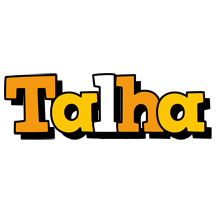 Talha cartoon logo
