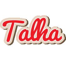 Talha chocolate logo