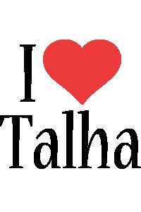 Talha i-love logo