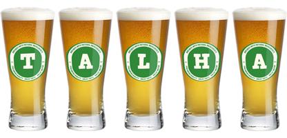Talha lager logo