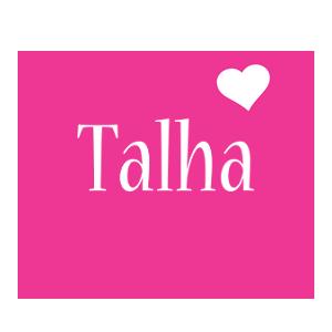 Talha love-heart logo