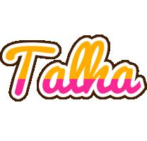 Talha smoothie logo