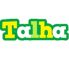 Talha soccer logo