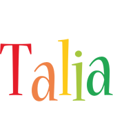 Talia birthday logo