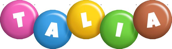 Talia candy logo
