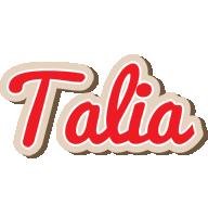 Talia chocolate logo