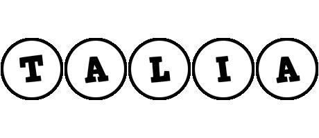 Talia handy logo