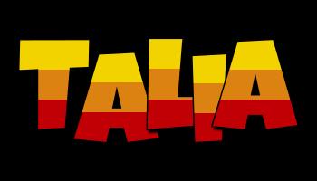 Talia jungle logo