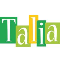 Talia lemonade logo