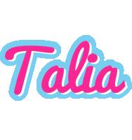 Talia popstar logo