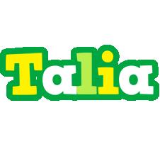 Talia soccer logo
