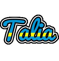 Talia sweden logo