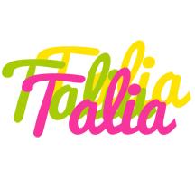 Talia sweets logo