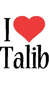 Generator - Love Name Talib Heart Love Boots Style Logo Friday I Jungle