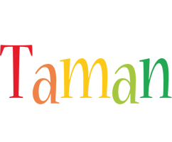 Taman birthday logo