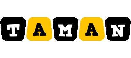 Taman boots logo