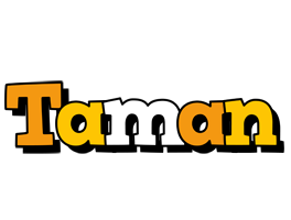 Taman cartoon logo