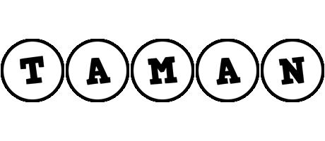 Taman handy logo