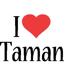 Taman i-love logo