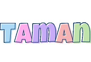 Taman pastel logo